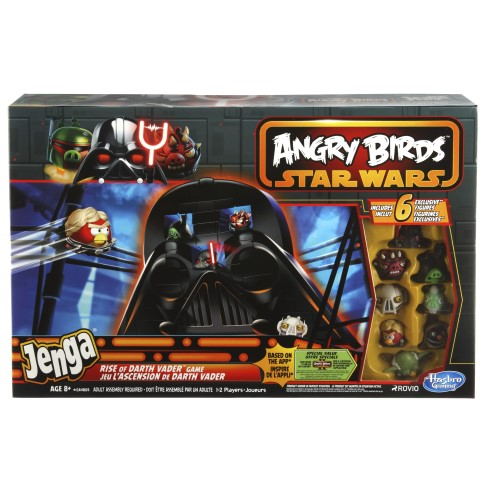 Joc jenga rise of darth vader angry birds