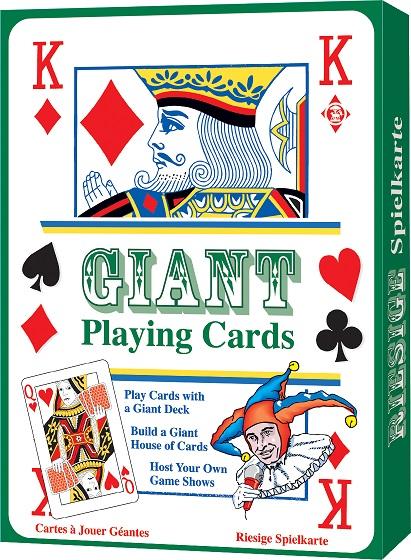 Set carti de joc uriase