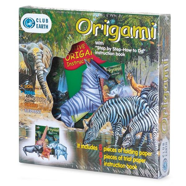 Set creatie Origami Animale exotice