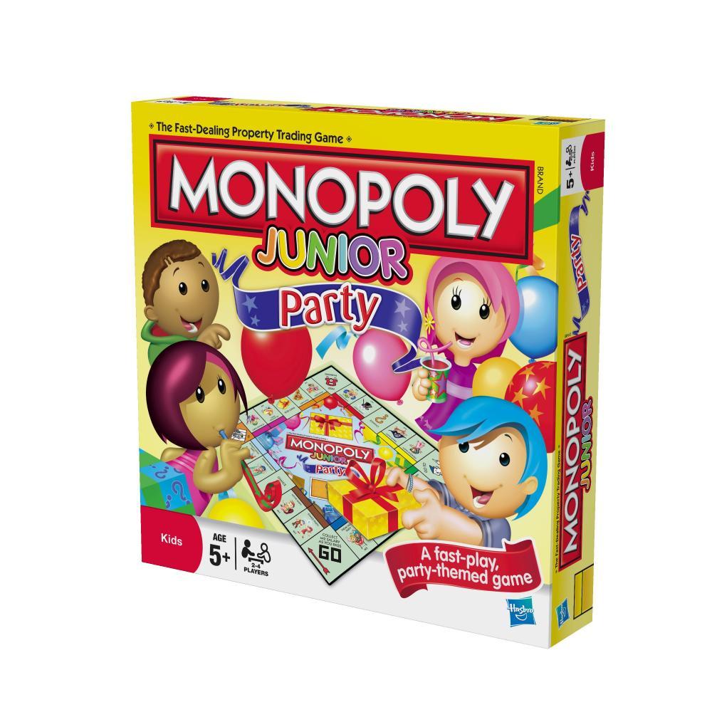 Monopoly junior petrecerea