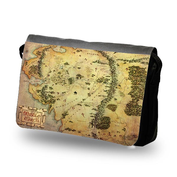 The Hobbit Shoulder Bag The Treasure Map