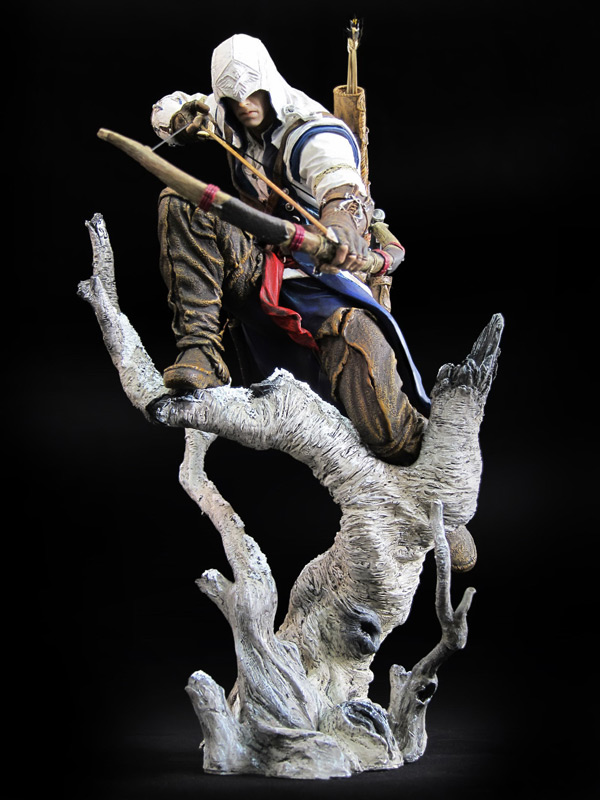 Assassin´s Creed III Statue Connor 25