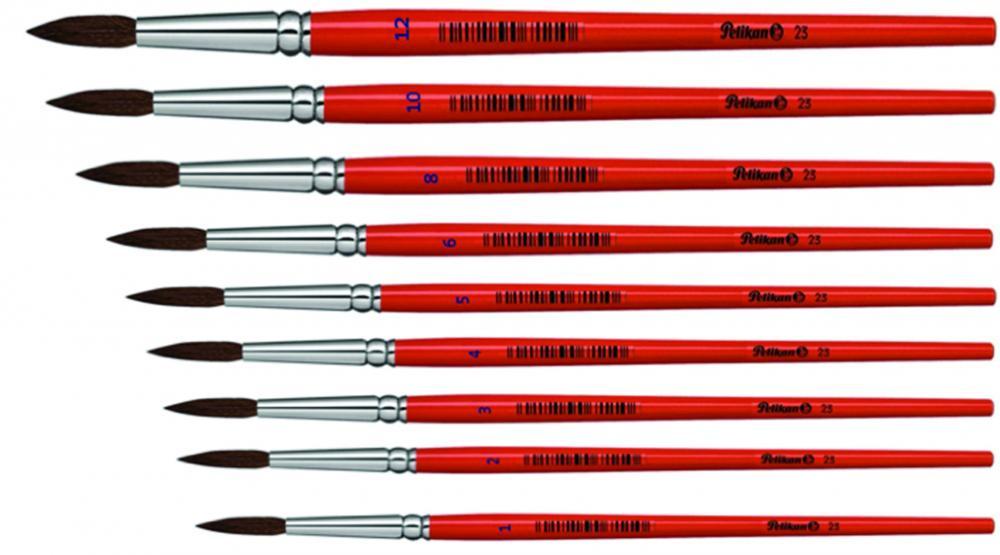 Pensula scolara rotunda,nr6,Pelikan,s32