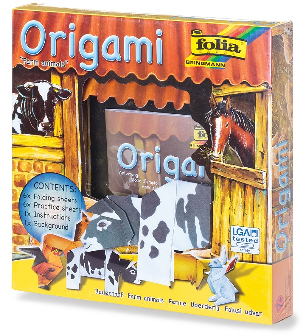 Set creatie origami Animale ferma