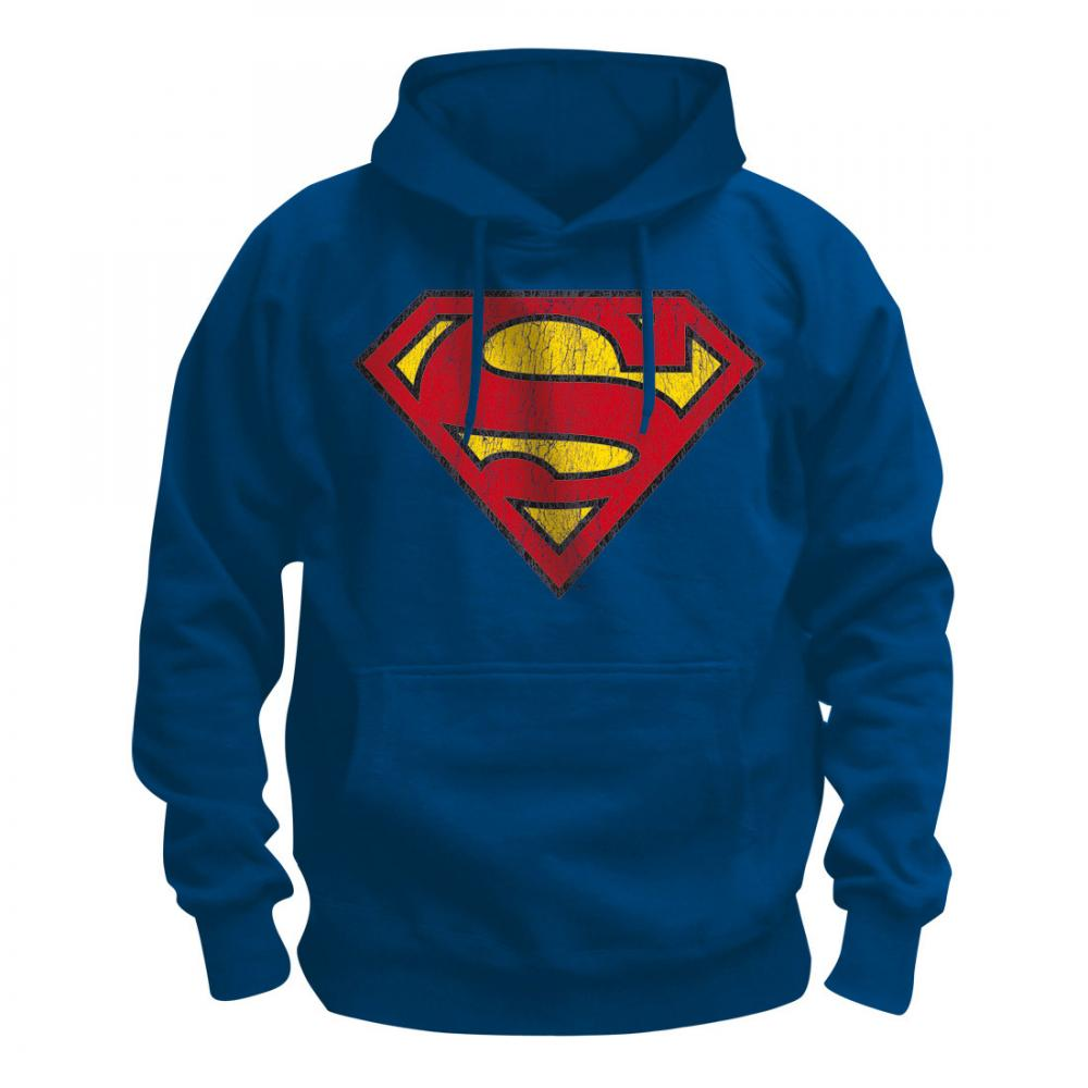 Justice League Hooded Sweater Superman L