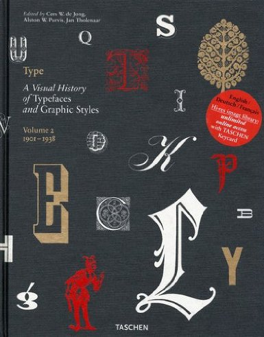 Type: V. 2: a visual history of typefaces - Alston Purvis