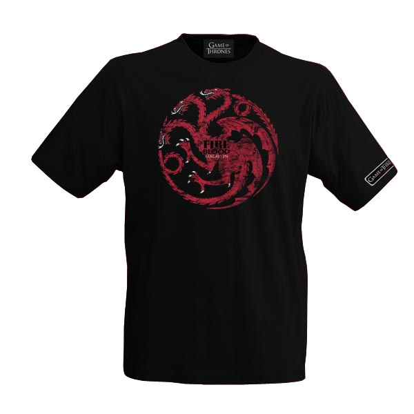 GOT T-Shirt House Targaryen L