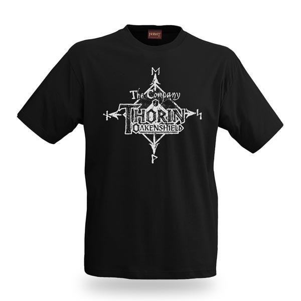 The Hobbit T-Shirt Thorin Distress M