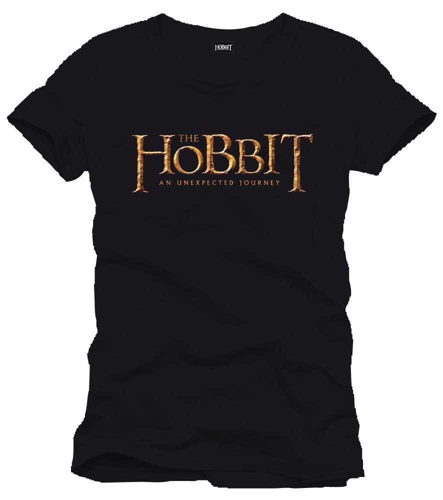 The Hobbit T-Shirt Logo black Size XL