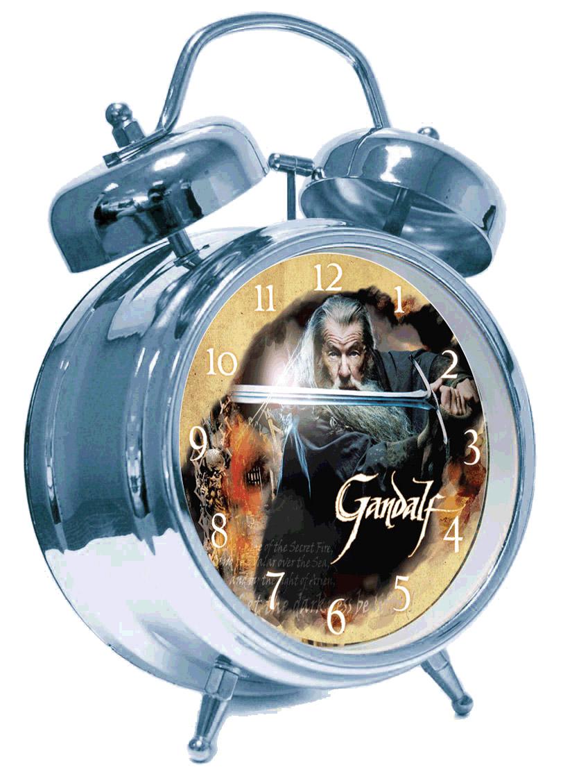 Hobbit Alarm Clock with Sound Gandalf