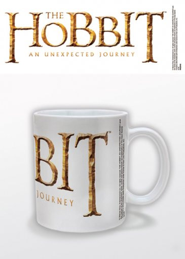 Hobbit: An Unexpected Mug Logo White