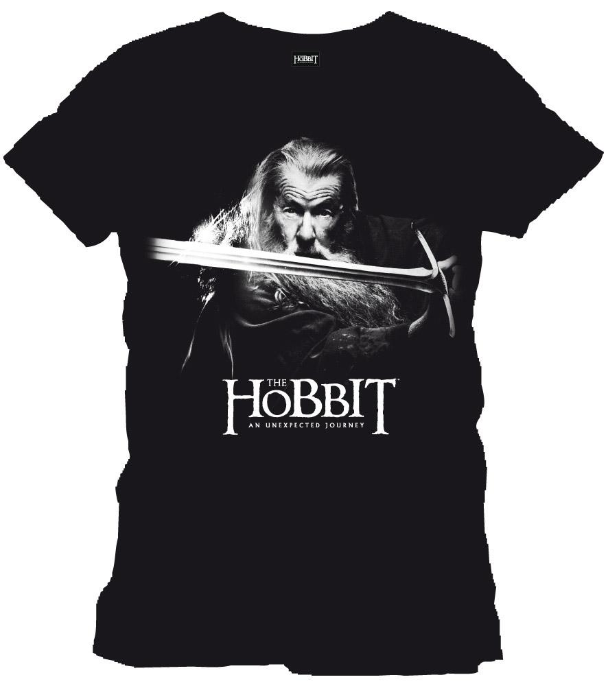 The Hobbit T-Shirt Gandalf black Size XL