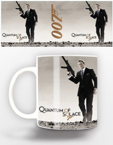 James Bond Mug Quantum Of Solace