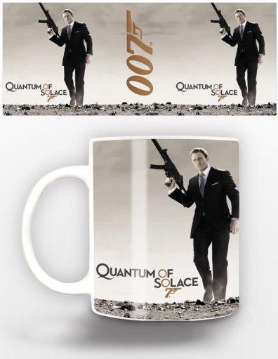 James Bond Mug Quantum Of Solace