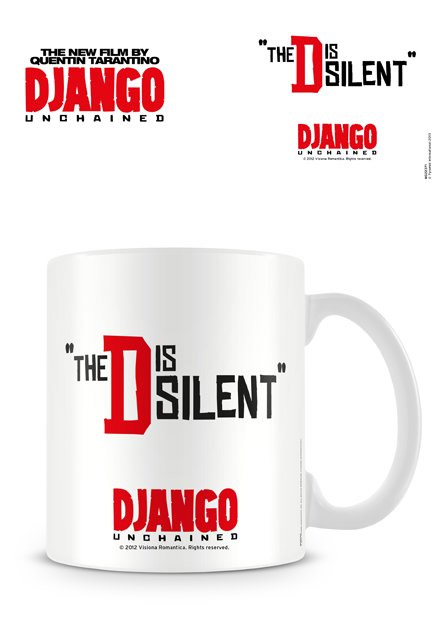 Django Unchained Mug The D Is Silent