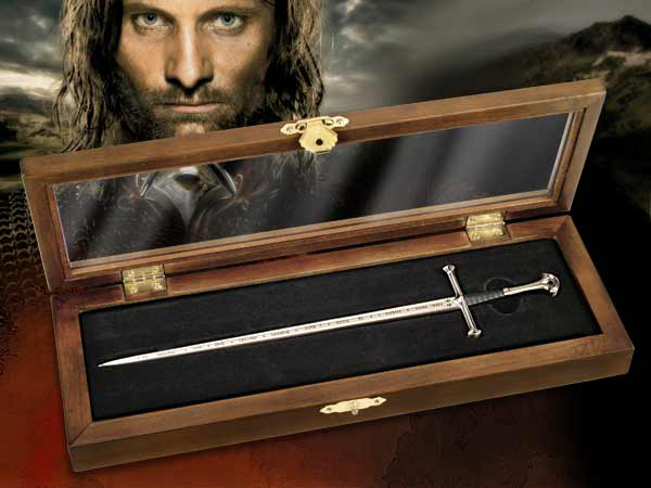 Lord of the Rings Letter Opener Anduril