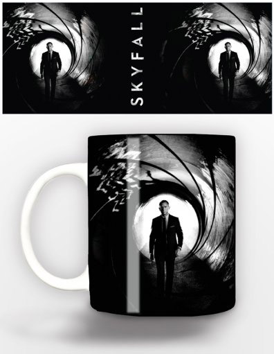 James Bond Mug Skyfall