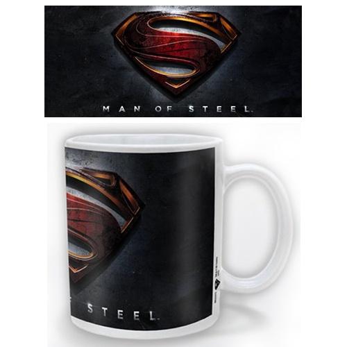 Man Of Steel Mug 3D Logo