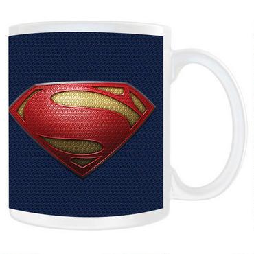 Man Of Steel Mug Red White Blue