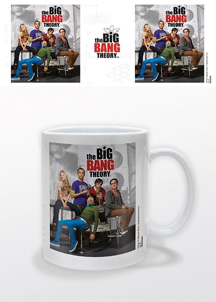 The Big Bang Theory Mug Portrait