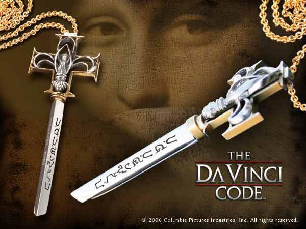 Da Vinci Code Letter Opener Bank Key