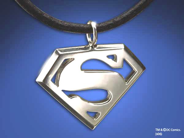 Superman Returns Pendant Logo (Silber)