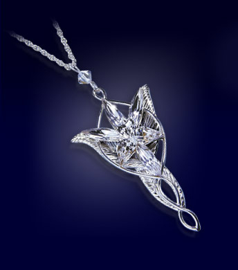 LOTR Pendant Arwen´s Evenstar (silver)