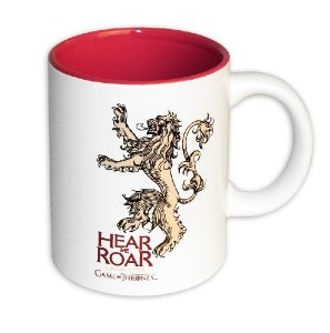 Game of Thrones Mug Lannister white