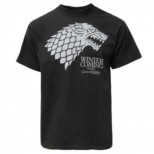 GOT T-Shirt Stark Winter Is Coming blk M