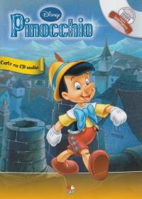 PINOCCHIO CARTE+CD DISNEY