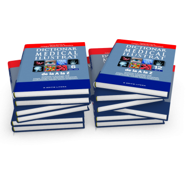 DICTIONAR MEDICAL ILUSTRAT SET 12 VOLUME