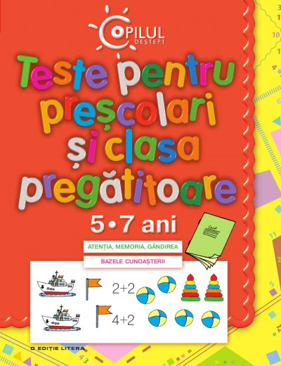 CARTE DE TESTE PENTRU PRESCOLARI 5-7 ANI