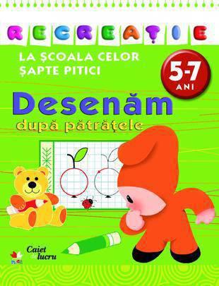 DESENAM PE PATRATELE 5-7 ANI EDITIA 2