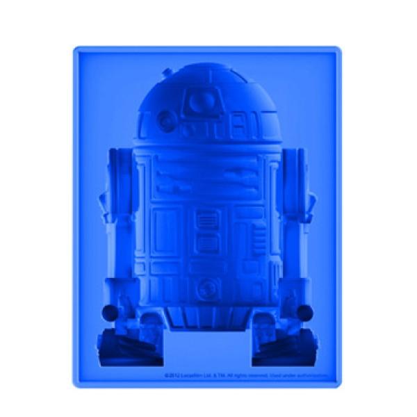 Star Wars dlx R2D2 Silicone Ice Cube Tray