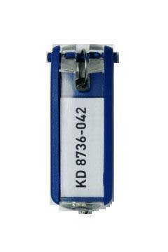 Suport eticheta cheie albastru 6 buc/set