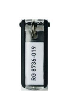 Suport eticheta cheie negru 6 buc/set