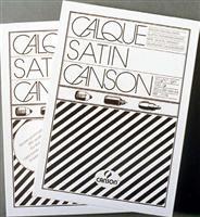 Calc Canson,297x420mm,500coli,90/95g/mp