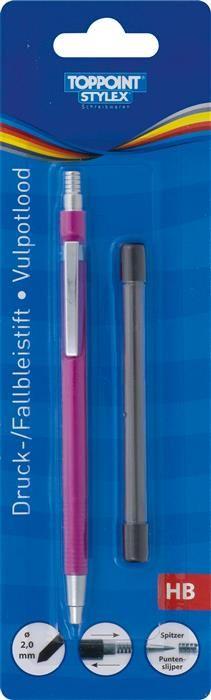 Creion mecanic Toppoint,2mm,6rez,div.cul