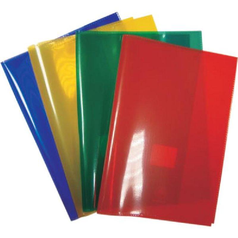 Coperta caiet A4,transparenta,verde