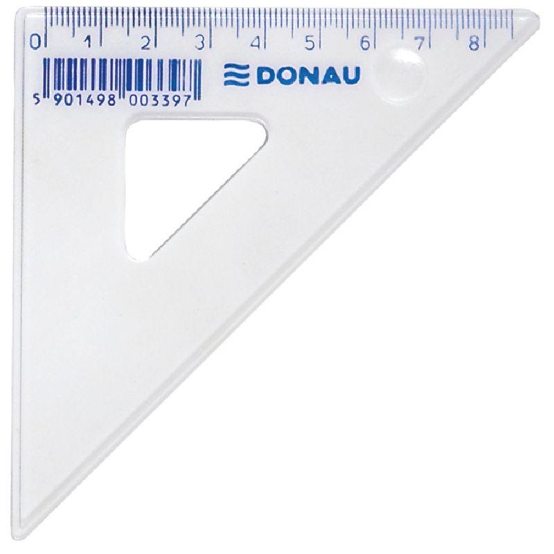 Echer 45/45,8.5cm,plastic transparent