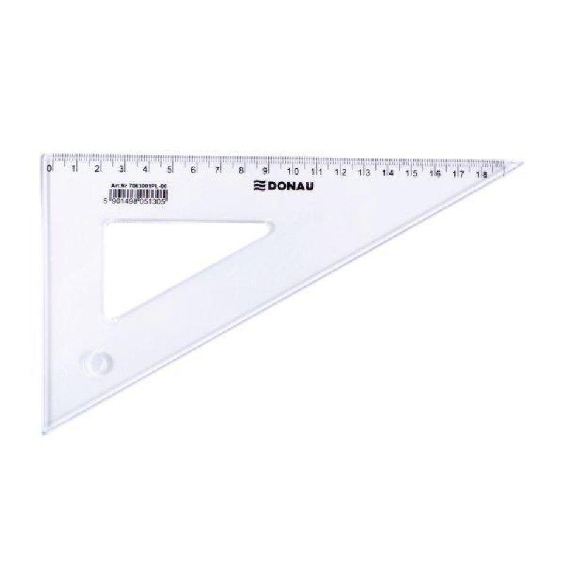 Echer 60/30,19cm,plastic transparent
