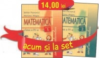 SET CAIETE MATEMATICA PENTRU CLASA A IV-A (PARTEA INTAI SI PARTEA A DOUA)