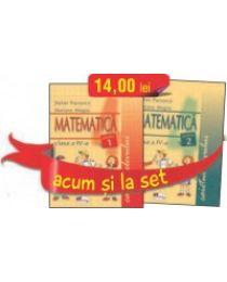SET CAIETE MATEMATICA PENTRU CLASA A IV-A (PARTEAINTAI SI PARTEA A DOUA)