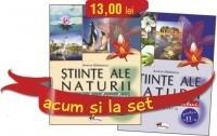 SET CAIETE STIINTE ALE NATURII PENTRU CLASA A III-A (PARTEAINTAI SI PARTEA A DOUA)