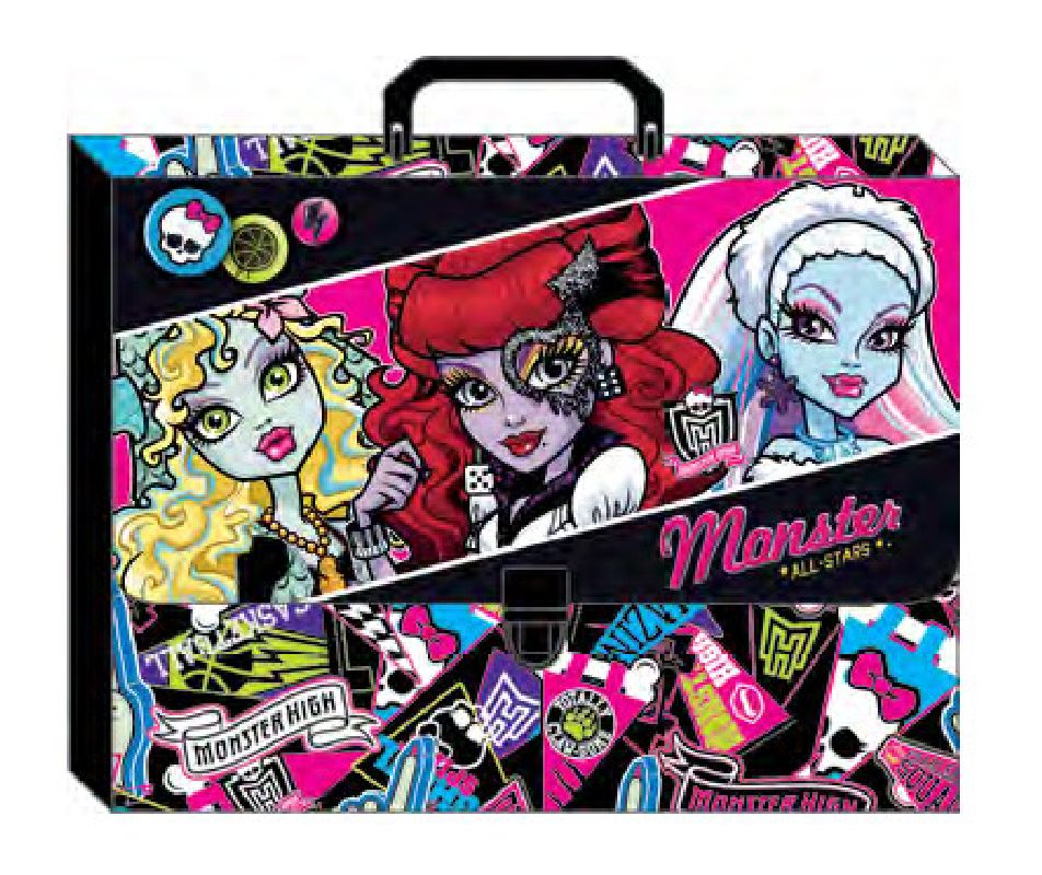 zzMapa cu maner A4,MonsterHigh