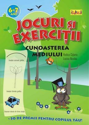 JOCURI SI EXERCITII. CUNOASTEREA MEDIULUI 6-7 ANI