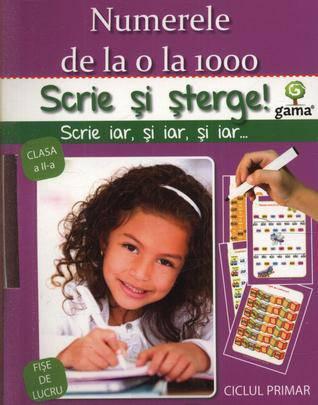 NUMERELE 0 -1000 - SCRIE SI STERGE