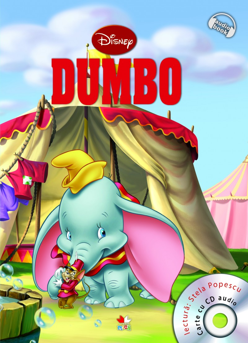 DISNEY. DUMBO CARTE+CD