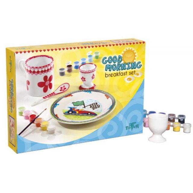 Set creatie decorare set mic dejun