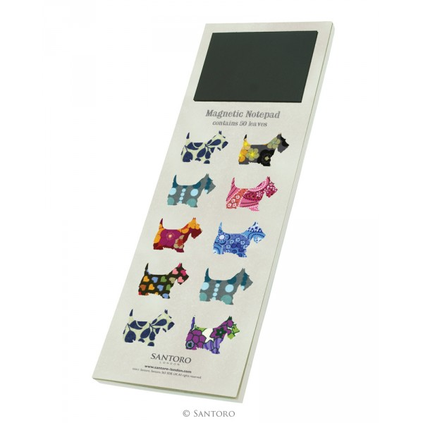Carnet in etui  Scottie Dogs
